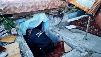 Adăposturile improvizate au fost desființate. FOTO Primăria Constanța