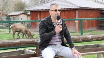 Adrian Bîlbă, directorul Complexului Muzeal de Științe ale Naturii. FOTO Adrian Boioglu