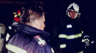Conducerea ISU Dobrogea a fost prezentă la locul incendiului. FOTO ISU Dobrogea