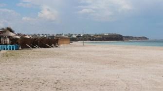 Plaja din Vama Veche a fost pustie de 1 Mai. FOTO Adrian Boioglu