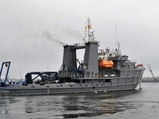 """Nava militară """"Căpitan-comandor Alexandru Cătuneanu"""". FOTO Forțele Navale"""