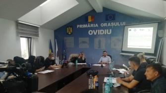 """Conferința de finalizare a proiectului """"Zona de agrement și relaxare din orașul Ovidiu"""". FOTO Paul Alexe"""