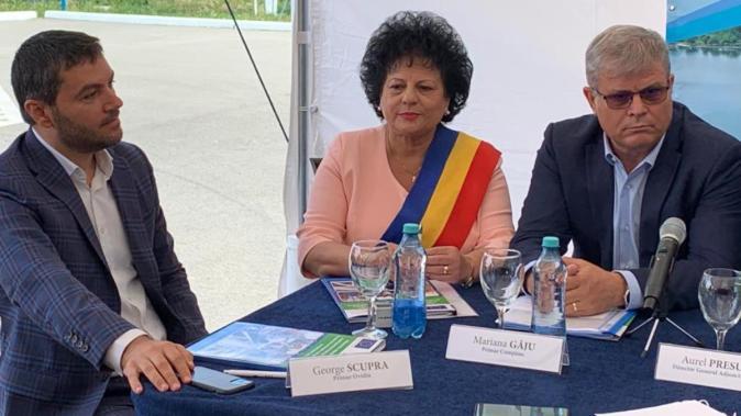 George Scupra, Mariana Gâju și Aurel Presura. FOTO Paul Alexe