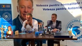Anton Traian Antoniadis și Dragoş Gabriel Zisopol. FOTO CTnews.to