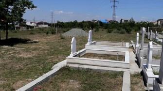 Gardul cimitirului musulman din Eforie a fost dărâmat și nu a fost pus nimic în loc.