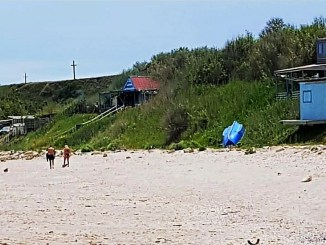 Plaja și faleza Tuzla. FOTO ABADL