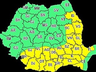 Atenționare meteorologică de caniculă pentru vestul județul Constanța