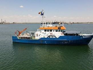 Specialiștii ABADL, în vizită de lucru în bazinul hidrografic al Dobrogei cu nava Marina I