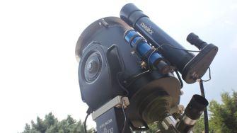 Observator solar, la Complexul Muzeal de Științe ale Naturii Constanța. FOTO Paul Alexe