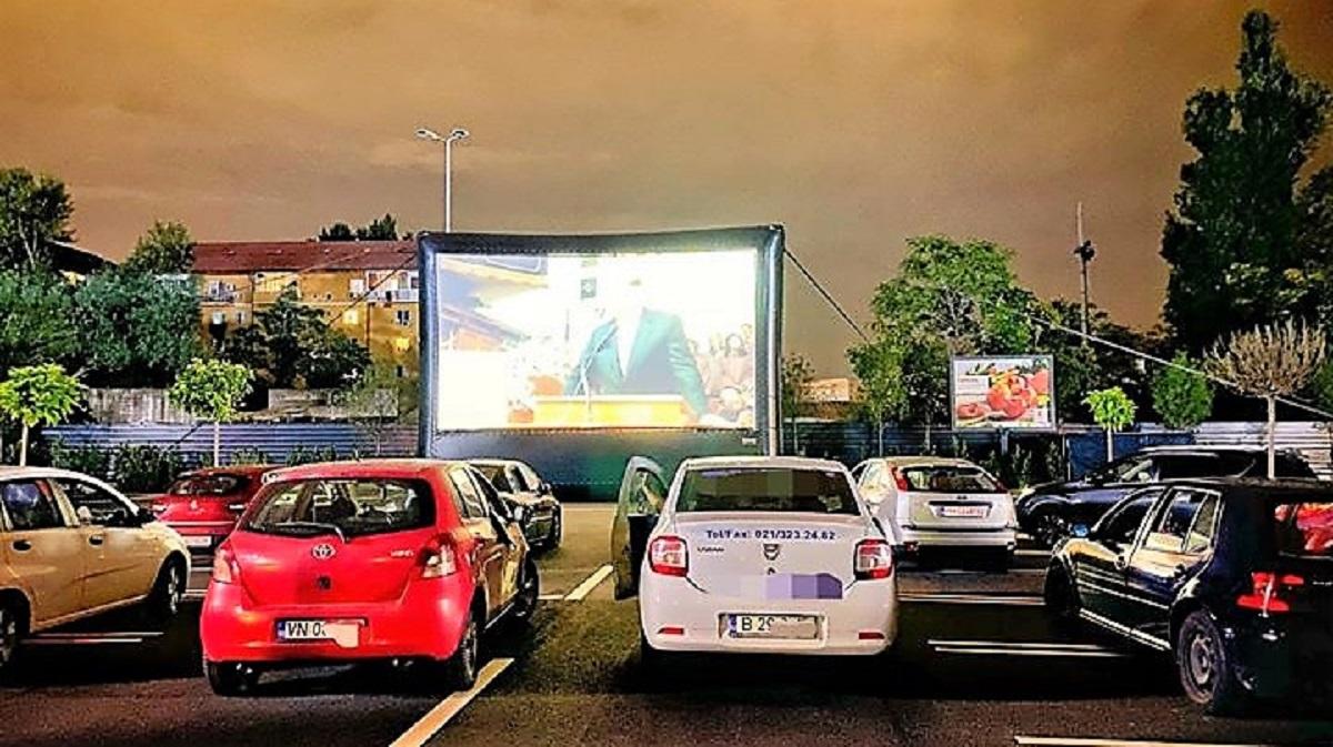 Imagine cinema drive in
