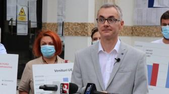 Stelian Ion, candidatul USR la Primăria Constanța. FOTO Adrian Boioglu