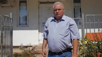 Primarul comunei Aliman, George Nicola. FOTO Paul Alexe