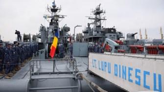 """Dragorul maritim """"Locotenent Lupu Dinescu"""". FOTO Forțele Navale"""