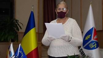 Consilierii din Cumpăna au depus jurământul. FOTO Paul Alexe