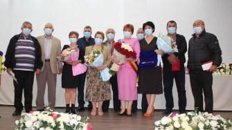 Ceremonia de învestire pentru Dorinela Irimia, primarul comunei Saraiu. FOTO Liliana Boioglu