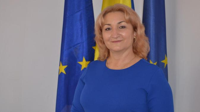 Nicoleta Vrabie, primarul comunei Peștera. FOTO CTnews.ro