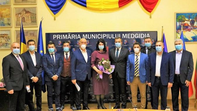 Ceremonia de constituire a noului Consiliu Local Medgidia