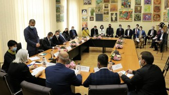 Ceremonia de depunere a jurământului și învestire în funcție a primarului reales Valentin Vrabie și a membrilor noului Consiliu Local