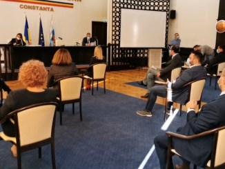 Ședință a Consiliului Local Constanța. FOTO Captură Video