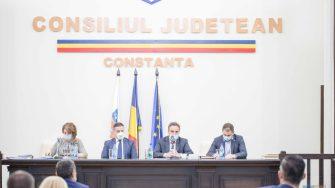 Conducerea Consiliului Județean Constanța. FOTO CJ Constanța
