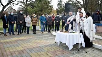 Creștinii ortodocși din Medgidia au sărbătorit Boboteaza. FOTO Primăria Medgidia