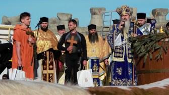 Arhiepiscopul Tomisului la slujba de Bobotează. FOTO Paul Alexe