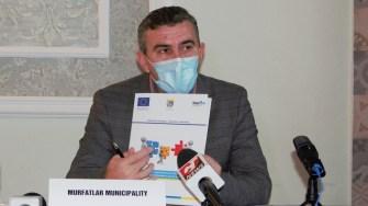 Primarul orașului Murfatlar, Gheorghe Cojocaru. FOTO Paul Alexe
