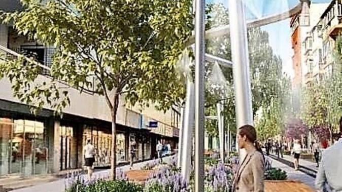 Strada Ștefan cel Mare va fi modernizată și revitalizată. FOTO Primăria Constanța