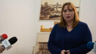 Lavinia Dumitrașcu, muzeograf la Muzeul de Istorie Constanța. FOTO Cătălin Schipor