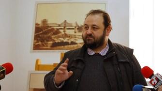 Directorul Muzeului Căilor Ferate, Mircea Dorobanțu. FOTO Cătălin Schipor
