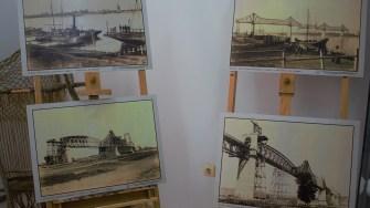 Anghel Saligny, omagiat într-o expoziție foto-documentară la Muzeul de istorie din Cernavodă. FOTO Paul Alexe