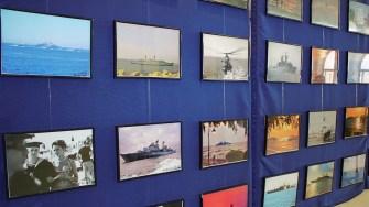 """Expoziția lui Ovidiu Oprea - """"Flota Maritimă a României văzută prin ochii fotografului militar"""". FOTO Paul Alexe"""