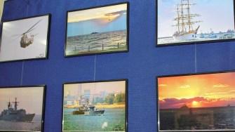 """?Expoziția lui Ovidiu Oprea - """"Flota Maritimă a României văzută prin ochii fotografului militar"""". FOTO Paul Alexe"""