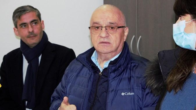 Deputatul PSD Lucian Lungoci și senatorul PSD Felix Stroe și deputatul PSD Cristina Dumitrache. FOTO Paul Alexe