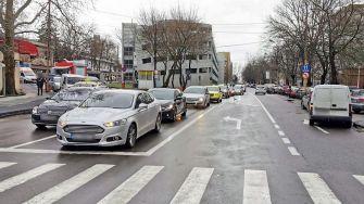 Străzile Nicolae Iorga, Ion Rațiu și Poporului devin artere cu sens unic. FOTO Primăria Constanța