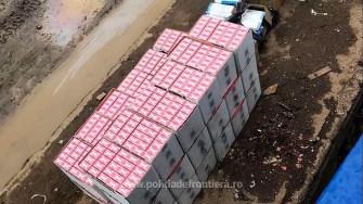 Țigări de contrabandă, depistate la bordul unei nave în Portul Constanța