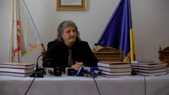 Academicianul Constantin Barbu. FOTO Paul Alexe