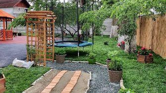"""Grădină senzorială """"Adi Bărar"""" pentru elevii cu dizabilități"""