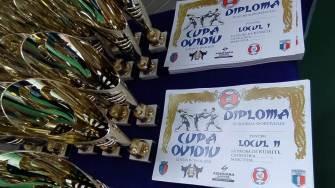 Competiție de arte marțiale la Ovidiu. FOTO Victor Radu