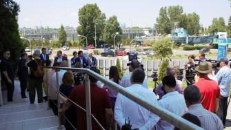 Conferință de presă a conducerii Gărzii de Mediu. FOTO Paul Alexe