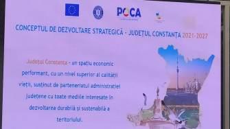 Lansarea Strategiei de Dezvoltare Durabilă a Județului Constanța. FOTO Victor Radu