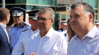 Vergil Chițac și Bogdan Huțucă. FOTO Adrian Boioglu