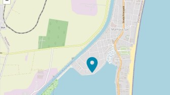 Harta zonei Lacului Siutghiol.