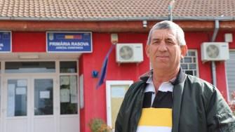 Primarul din Rasova, Mihalache Neamțu. FOTO Adrian Boioglu