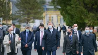 Klaus Iohannis, în vizită la CNE Cernavodă. FOTO Administrația Prezidențială.