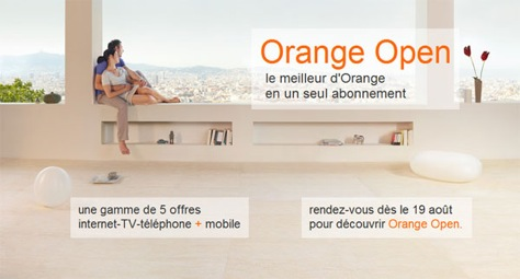 Quad play ad from France's incumbent Orange