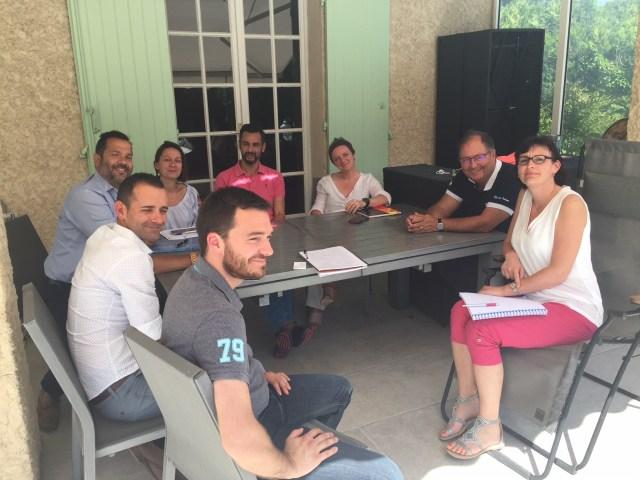 Convivialité, soleil, travail et bonne humeur à la session d'intégration de Mai