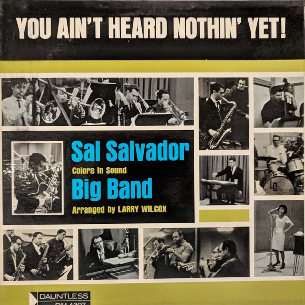 You Ain't Heard Nothin' Yet! - Sal Salvador