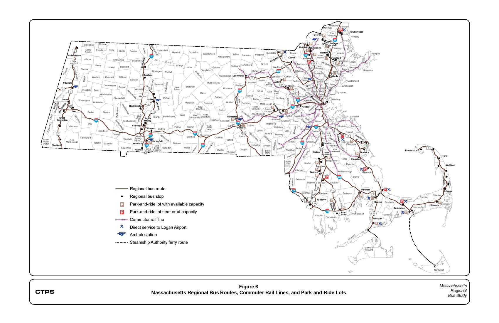 Mbta Map Boston Mass