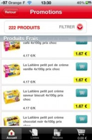 page promo auchan drive iphone
